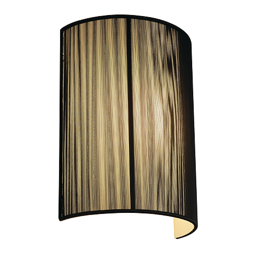 Ever-change Series Black Curved Wall Light